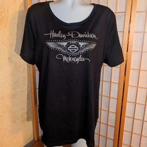Harley Davidson graphic t shirt, 1X
